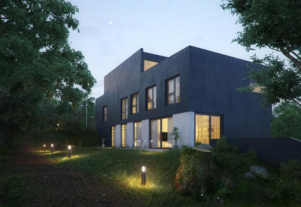 Custom 3D residential renderings