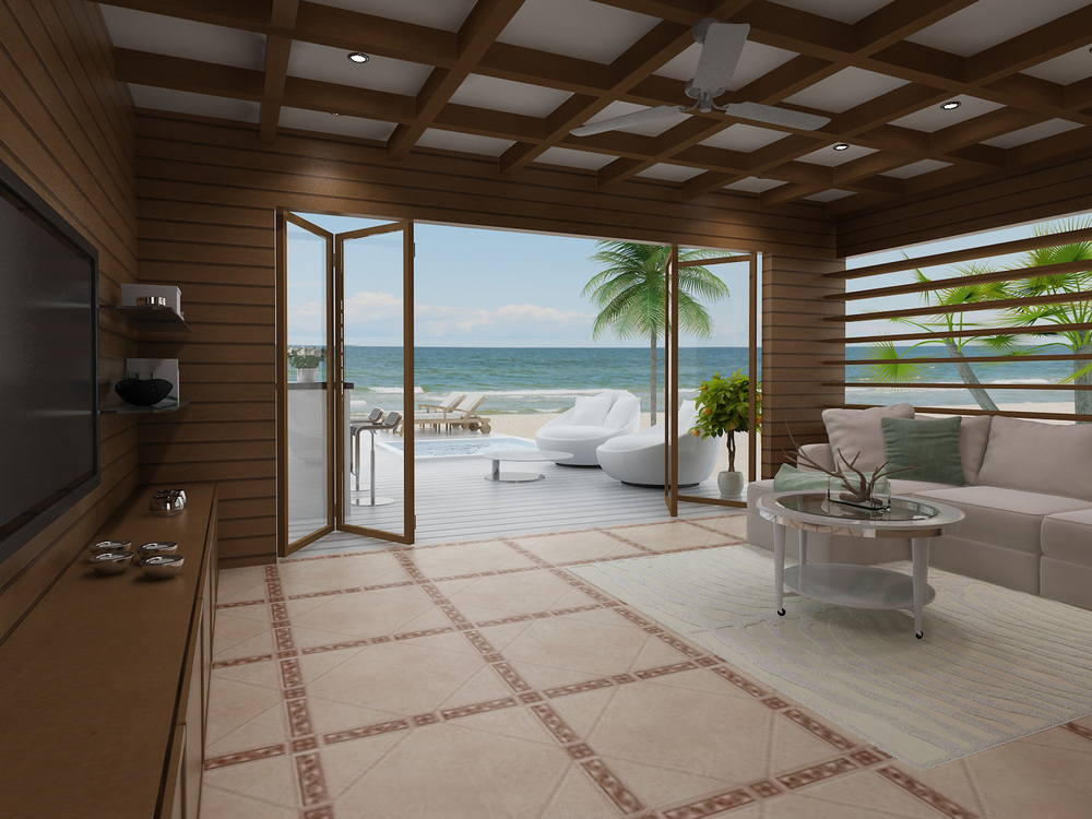 Turtle Cove - 3D Interior Rendering Suite