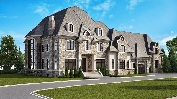 We can do exterior or interior renderings with ease. If you just need a rendering of the exterior of the house the cost can be reduced dramatically.