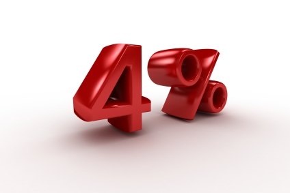 4-Percent-Sign