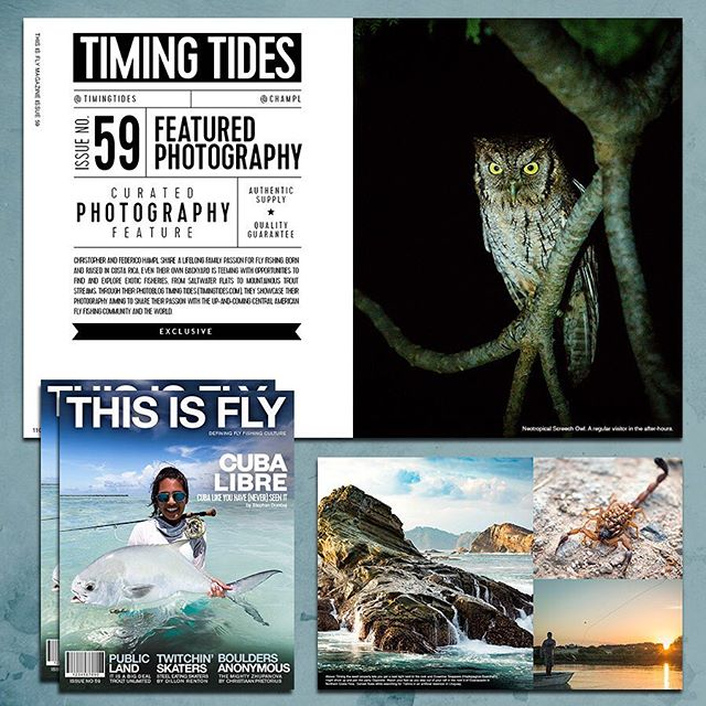 Our images are the latest photography feature in @thisisflymagazine !! The article in the link in bio.