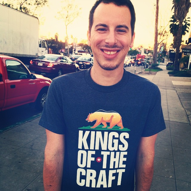 Our associate producer Eduardo took some new Kings gear out for a spin in preparation for #sdbeer week and Guild Fest this weekend. Meet our #beer bear and get excited for some new merchandise to be available soon! Working hard for some real #craft #sandiego #craftbeer #documentary #photooftheday #sunset #follow
