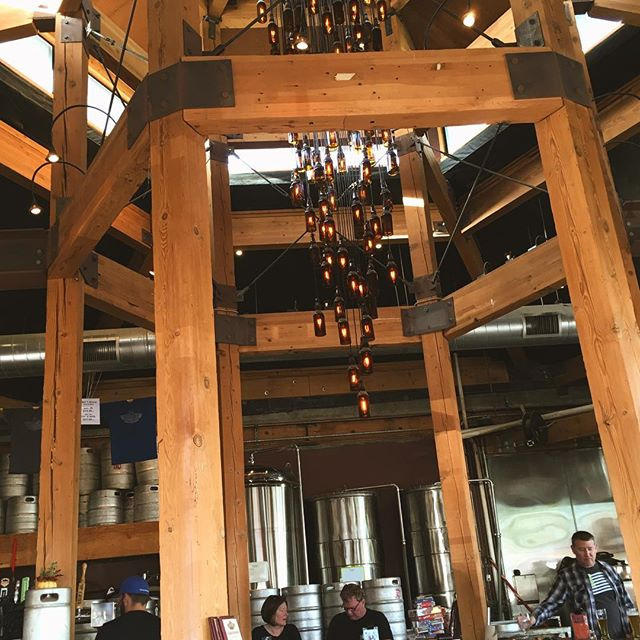 Beer gives us life and also light at Hillcrest Brewing Company @mosuniverse  #beer#craftbeer#craft#sandiego#sdcraftbeer#television#series#kpbs