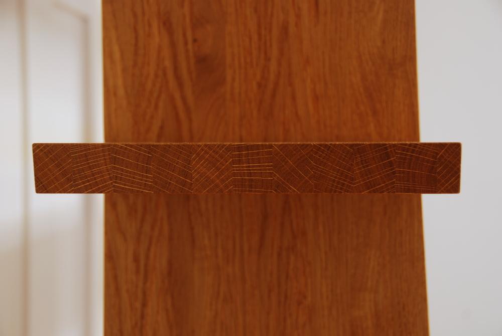 14 Fumed Oak Tapered Shelves.JPG