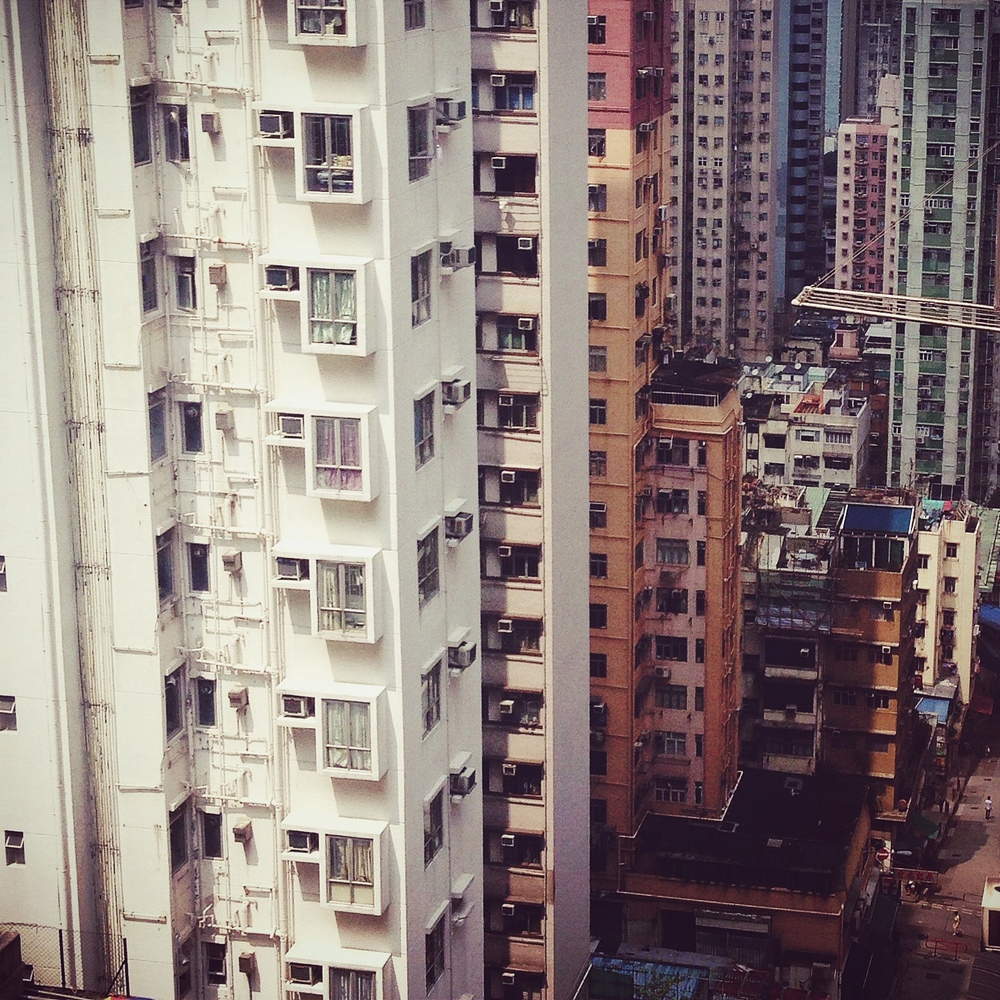 our first morning in hong kong looked like this