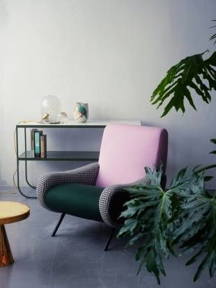 Millennial Pink chair green kale.jpg