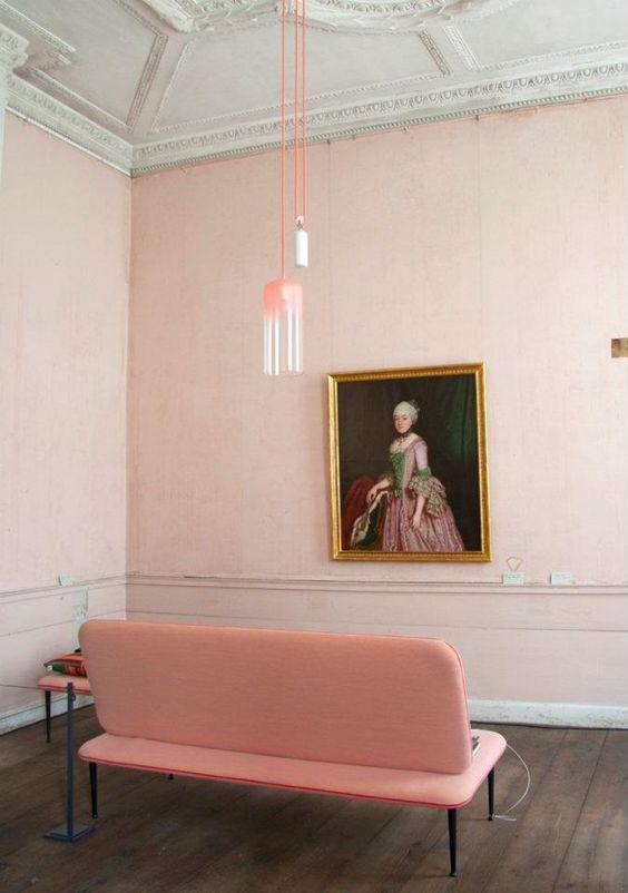 Millennial Pink classic modern traditional living room.jpg