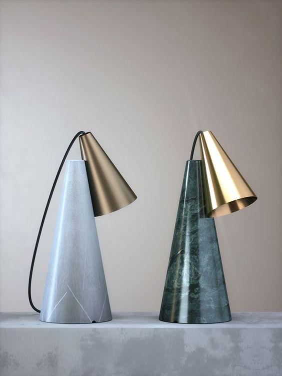ED038, Edizioni lamp de table Pierre