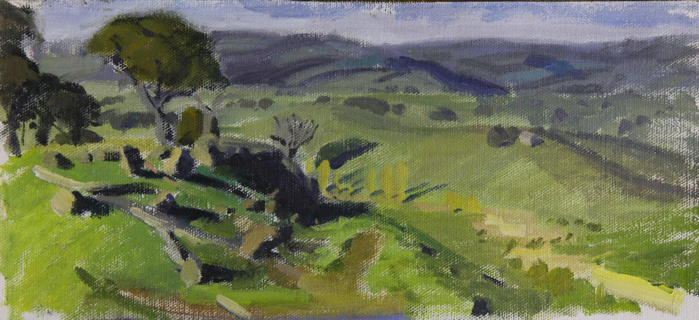 En Plein Air colour study