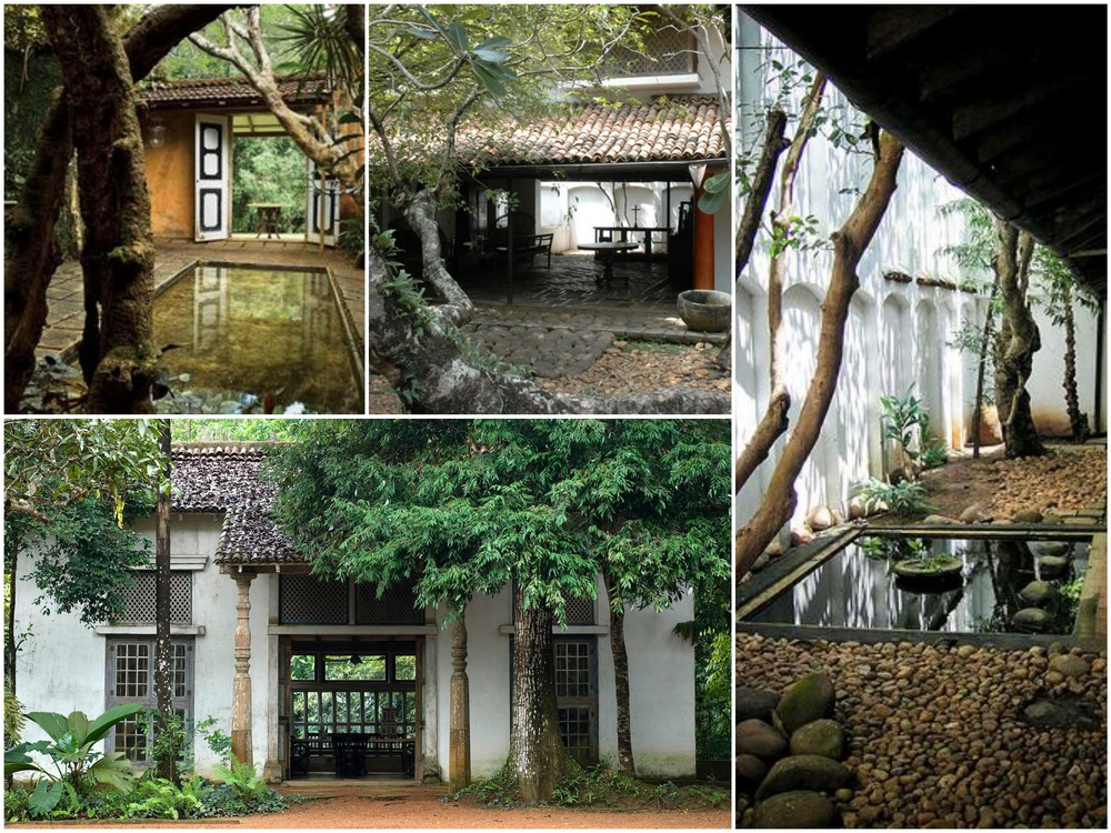 Finding Inspiration in houses designed y Geoffrey Bawa, a Sri Lankan architect