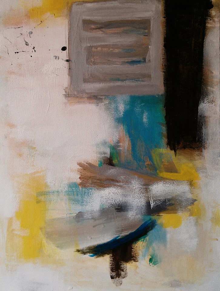 Untitled , 2013, acrylic on canvas, 61x41cm. Private collection, San Francisco (USA)
