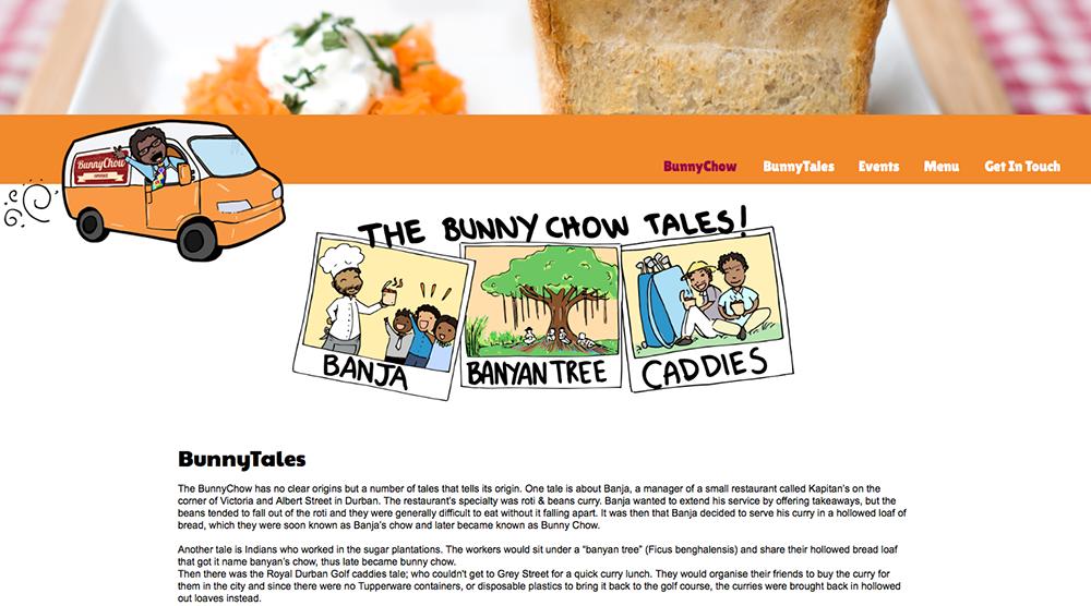 Screenshot of website - click to visit.