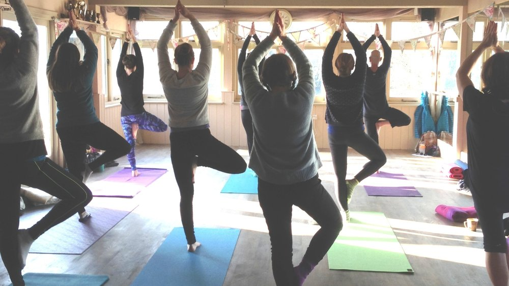 yoga workshop and retreat sussex