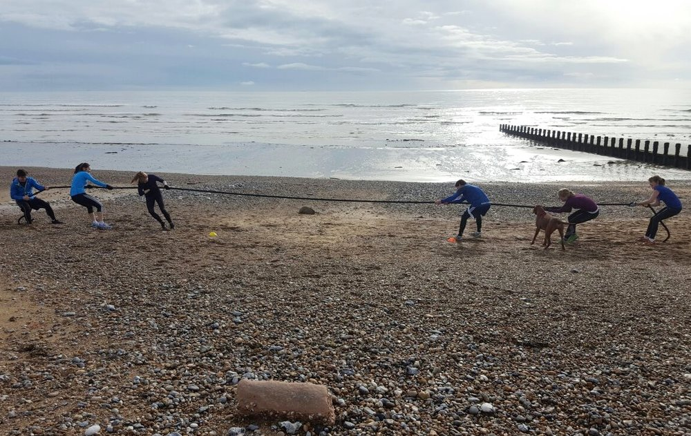 beach bootcamps and fitness retreats in sussex