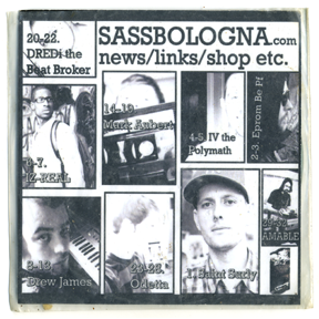 Sassbologna Sampler 2009
