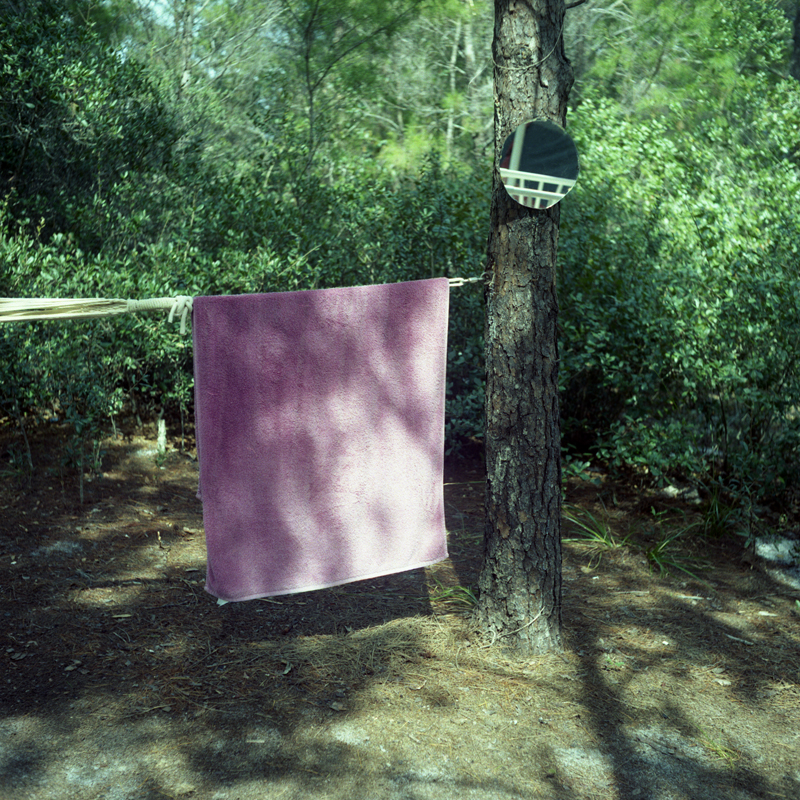 Towel and Mirror (Nellie and Robert's Camp), Fort Pierce, FL 2014