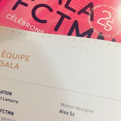 Last work - gala FCTMN ☀️🌸#galafctmn #fctmn #motiondesign #mtl