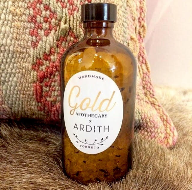 Bath Soak:  An in-store exclusive designed for  Ardith  in Toronto.