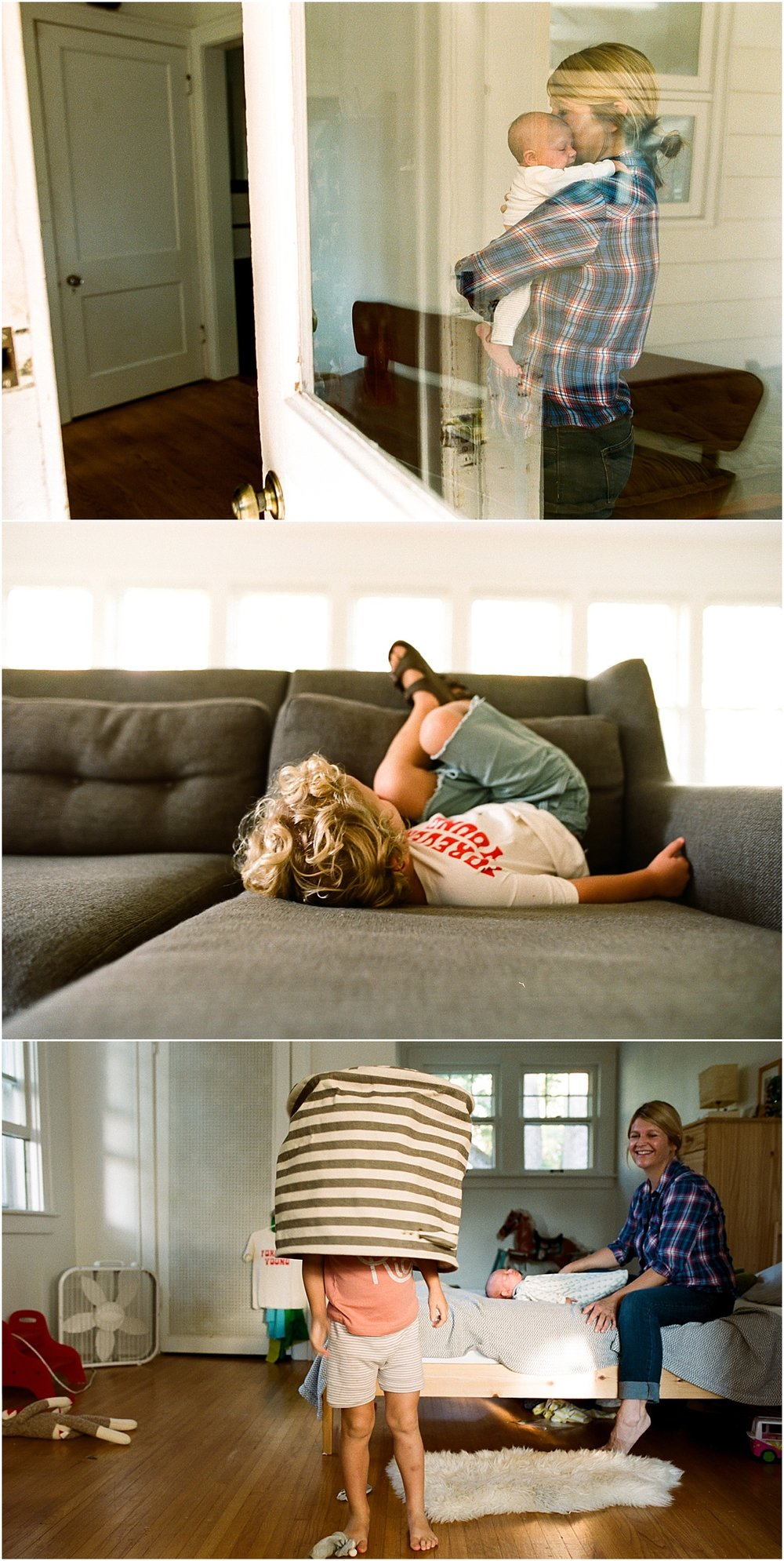 ©MariaManco Family Session at Home on Film 1