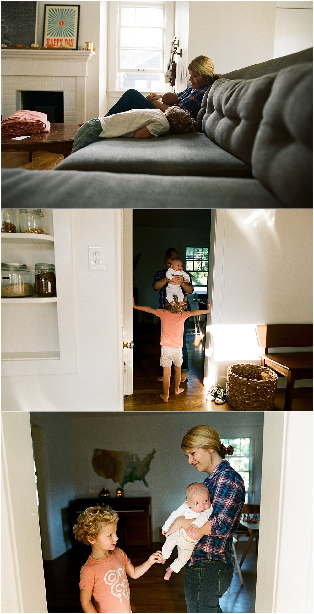 ©MariaManco Family Session at Home on Film 3
