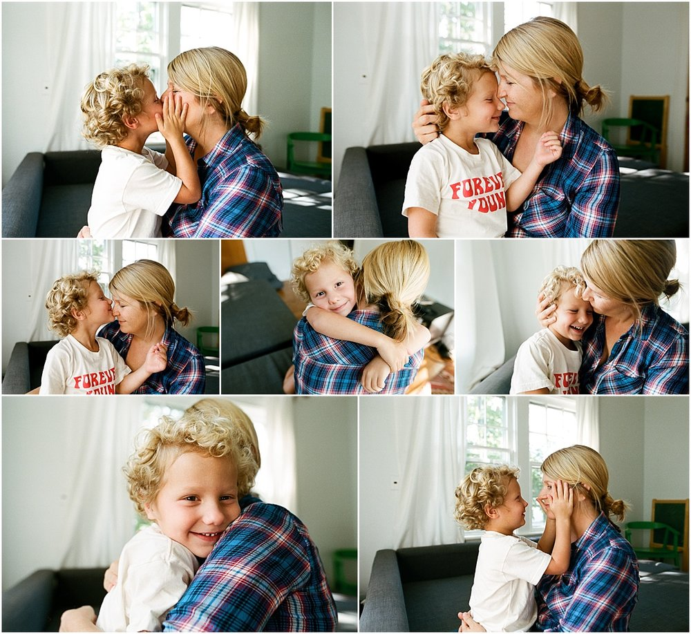 ©MariaManco Photography Family Session at Home on Film 9
