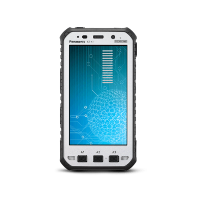 Panasonic Toughpad-FZ-X11 Phablet for field operations.