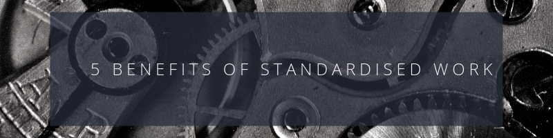 Standardised work is a pillar within many high-performing manufacturing firms. It establishes safe and efficient processes for completing workplace tasks.