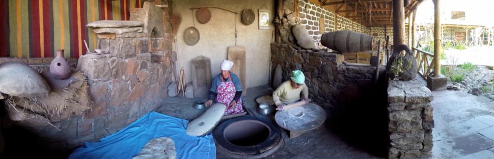<br>Обряд приготовления лаваша