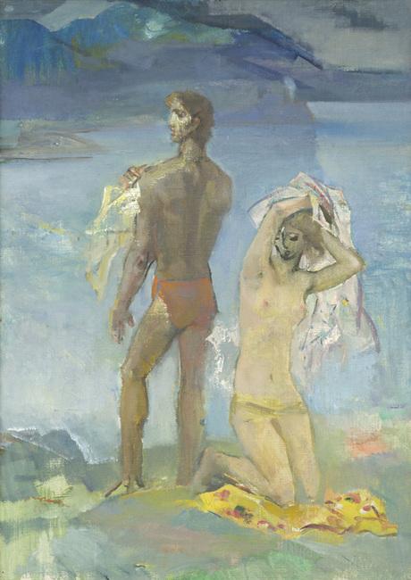 «На берегу озера» Эдвард Исабекян