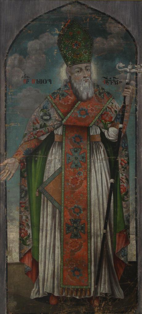 Таким видели Маштоца армянские  художники средневековья