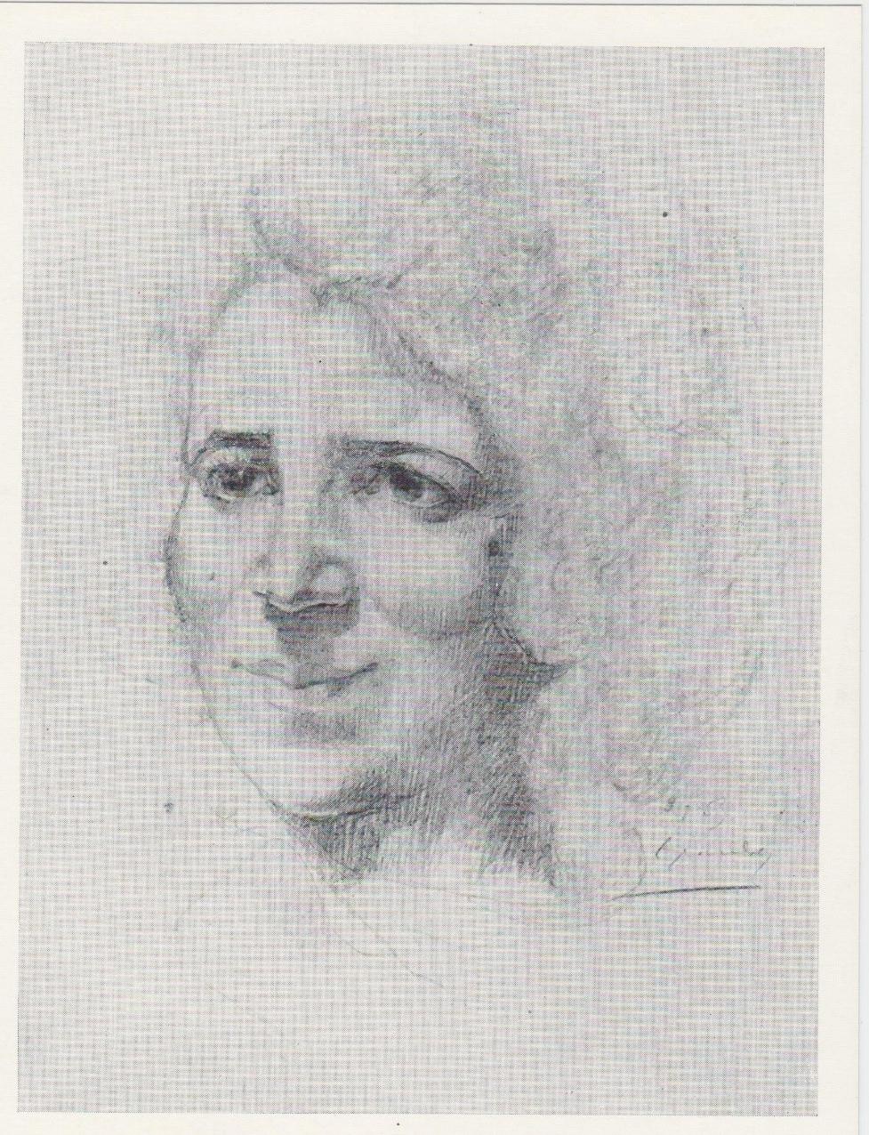 Е.С. Кочар. Портрет Маник. 1953