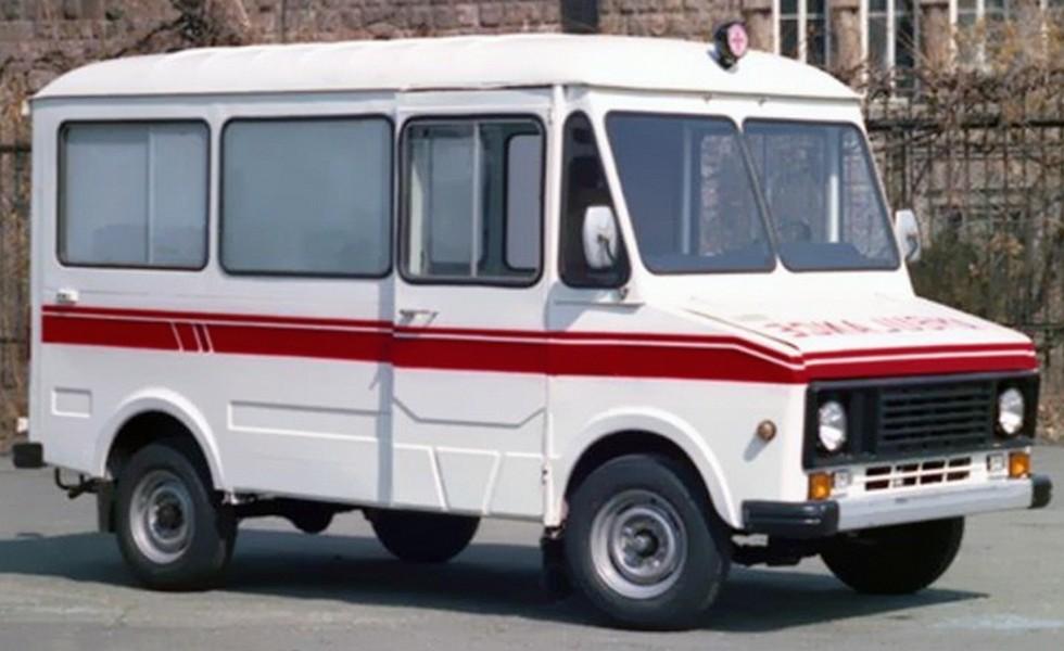 Скорая медицинская помощь ЕрАЗ-37309