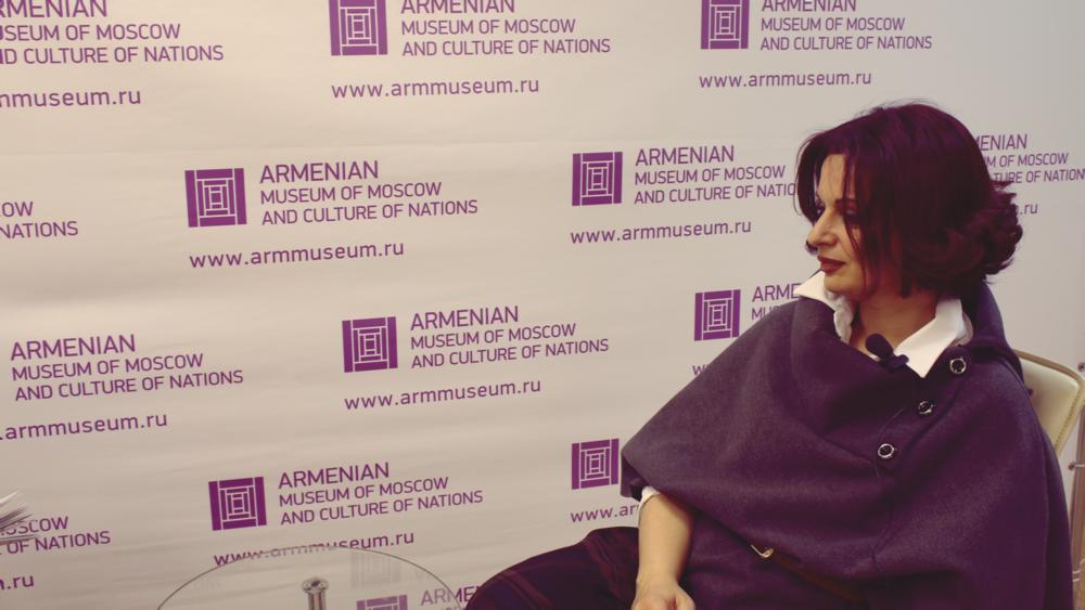 Искусствовед, члена международной Ассоциации арт-критиков и ICOM Лилит Саркисян