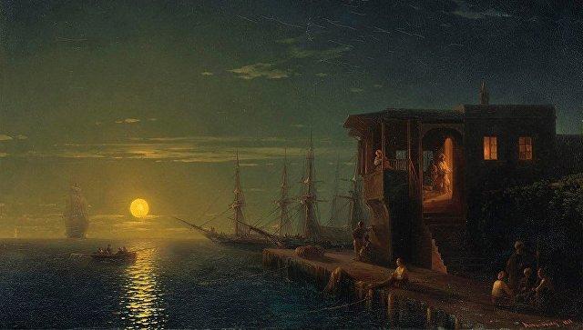 В 2016 году фаворитом аукциона Christie's стало полотно Ивана Айвазовского «Османская кофейня в лунном свете», которое ушло с молотка за 194,5 тыс. фунтов стерлингов