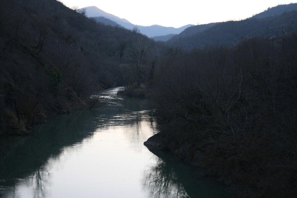 Окрестности села Тонашен. Так выглядит самая большая река в Нагорном Карабахе..jpg