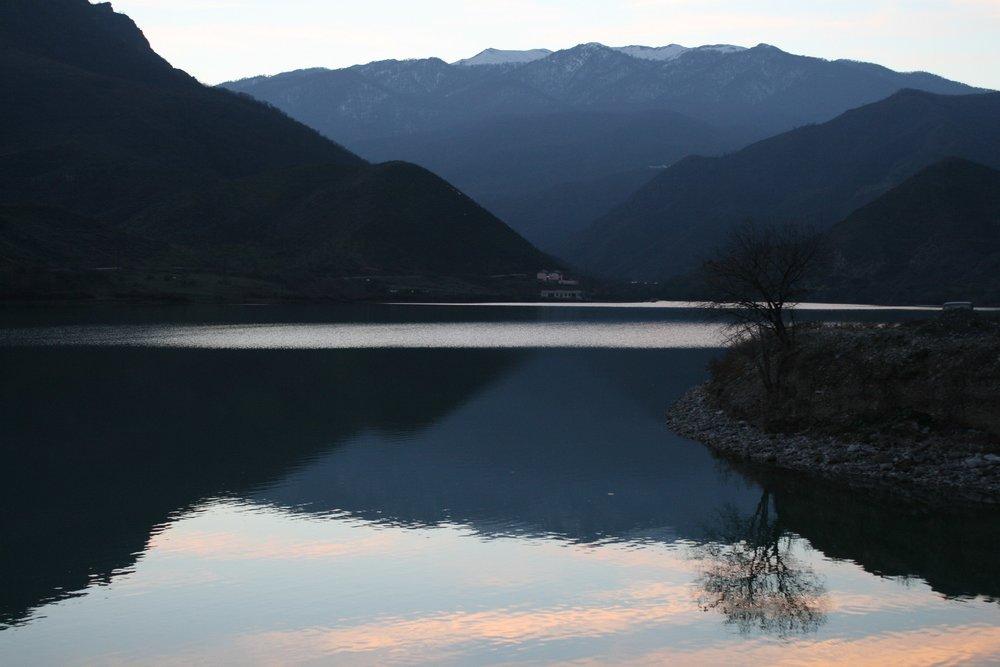 Село Матагис. Водохранилище АрцахГЭС на крупнейшей в Карабахе реке Тартар..jpg