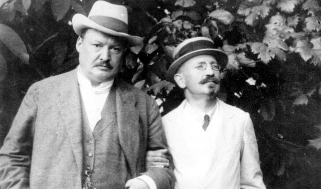 Александр Спендиаров с композитором Анатолием Лядовым