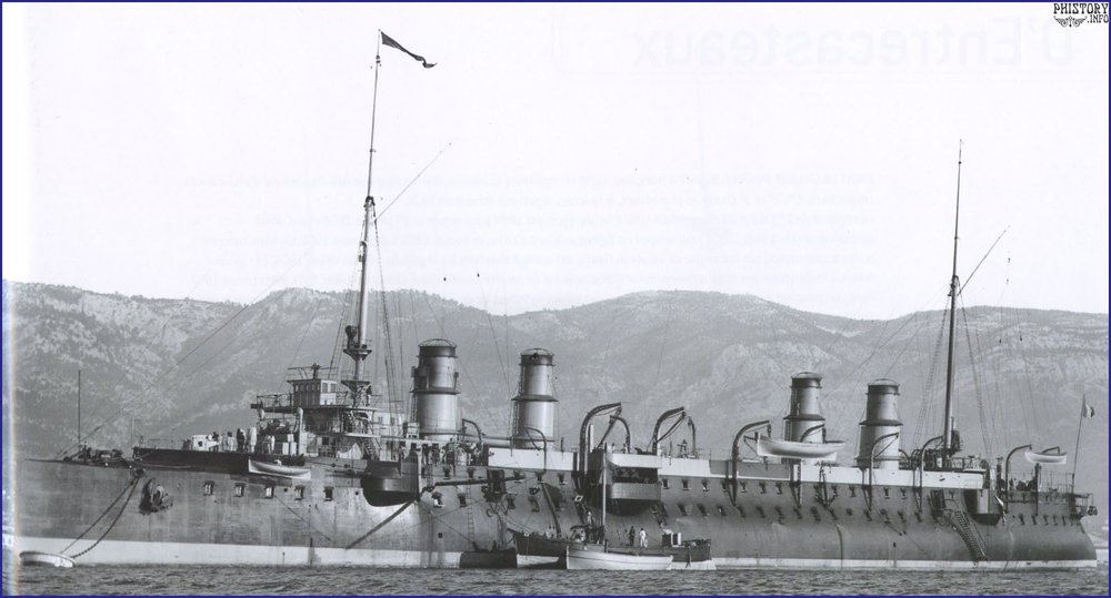 Броненосный крейсер Guichen