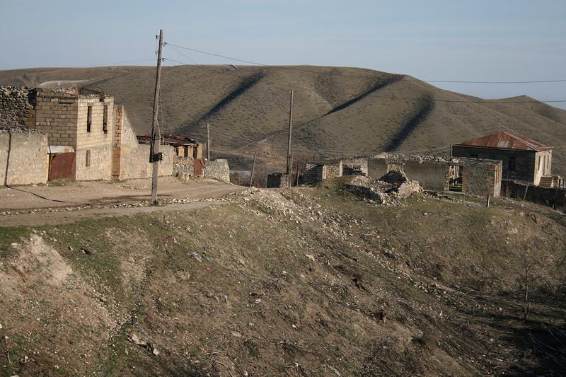 Западная окраина села Талыш. Фото Сергея Новикова