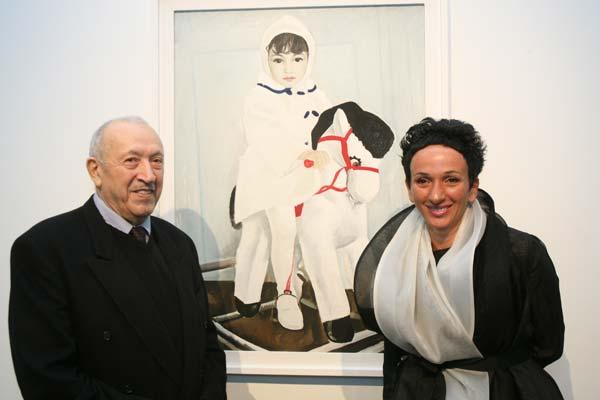Айдан со своим отцом Таиром Салаховым, советским азербайджанским и российским живописцем, театральным художником, членом Президиума Академии художеств СССР с 1978 года, вице-президентом Российской Академии художеств с 1997 года.