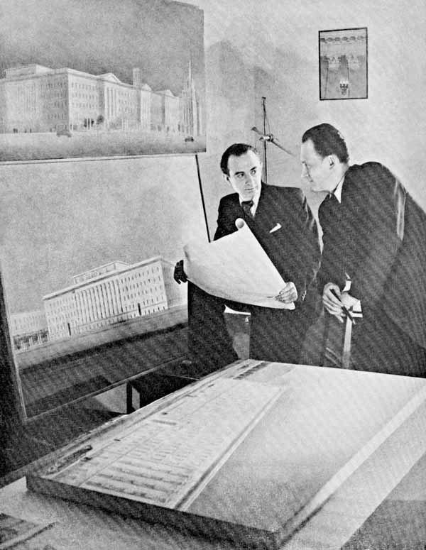 А.А. Мндоянц и М.В. Посохин