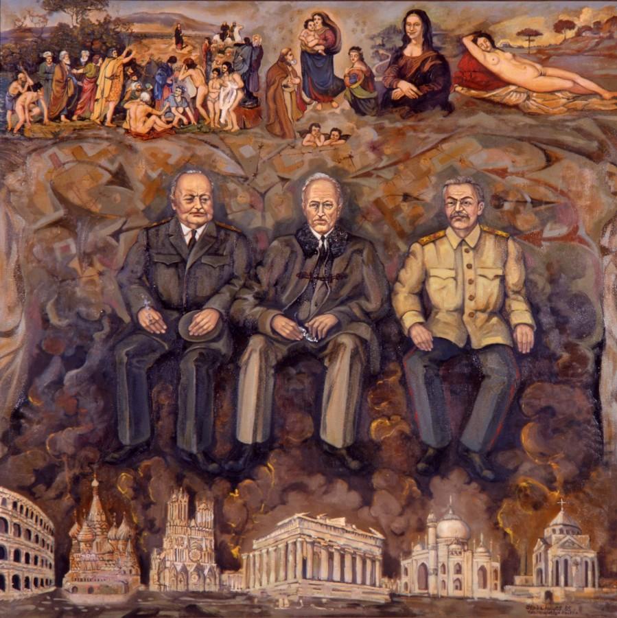"Корюн Нагапетян. ""Ялтинский передел мира"", 1988 г."