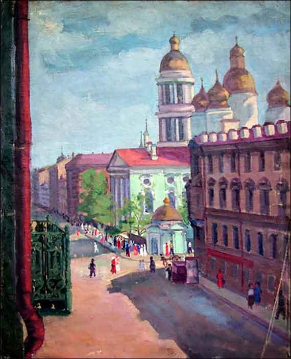 Аладжалова Е. Площадь Нахимсона