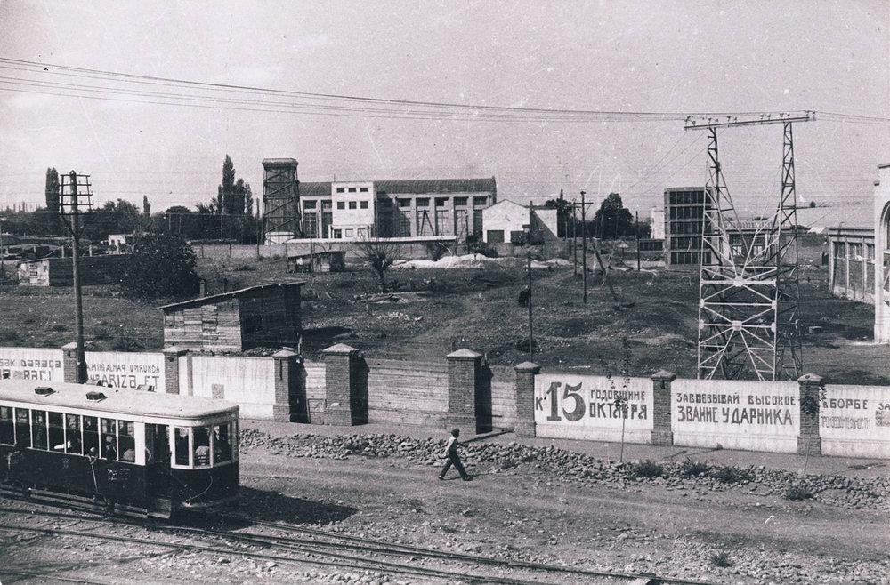 Гянджа. Фото из Центрального госархива кинофотодокументов СССР Автор Аре Оландер (Эстония), 1933 г.