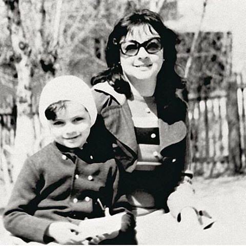 Любимая жена Бедроса Алла-Виктория Киркорова и сын Филипп