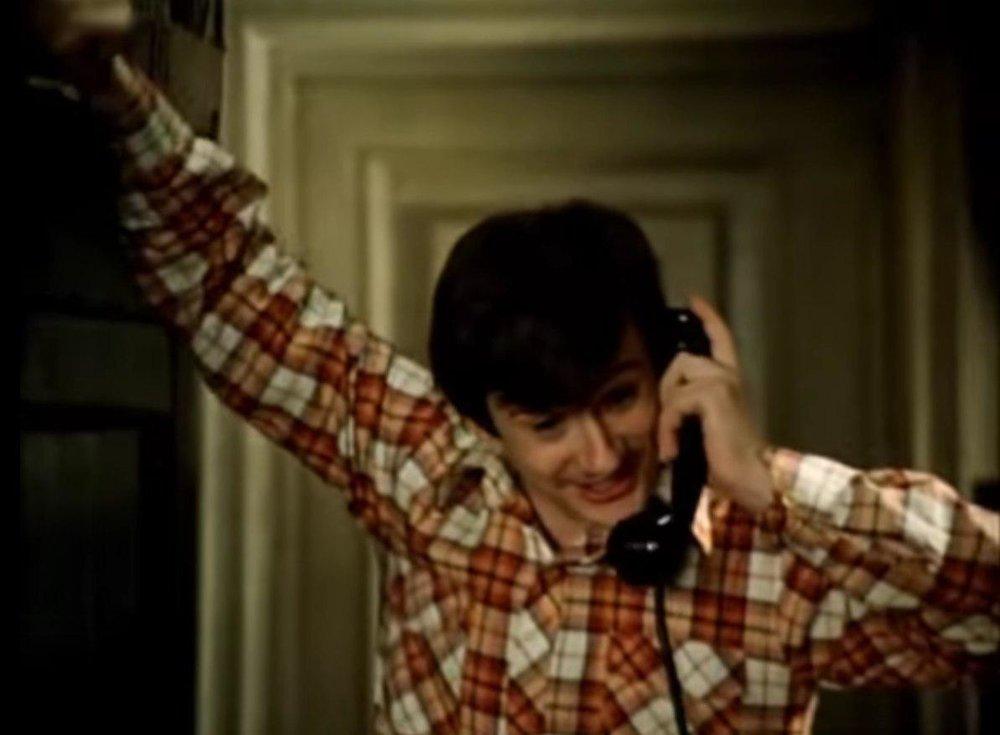 Кадр из фильма «Покровские ворота». Костик говорит с Анной Адамовной