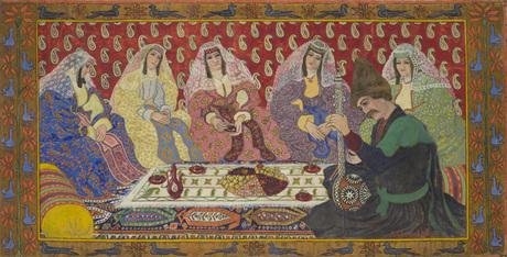 Григор Шарбабчян, Национальная галерея Армении