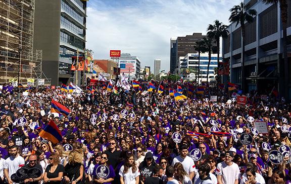 Памятное шествие армян Буэнос-Айреса
