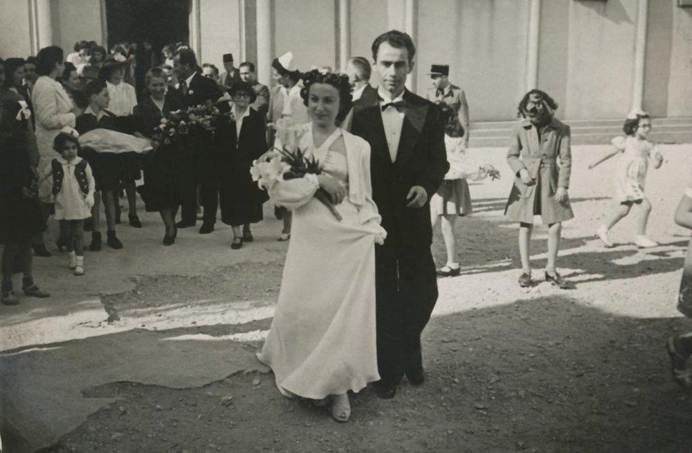 "Свадьба Армине и Арутюна Каленц, Бейрут, 1943 год (фото с официального сайта Музея ""Каленц"""