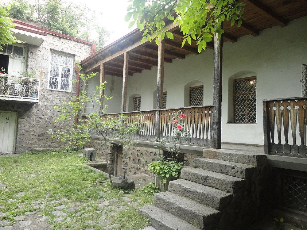 Дом-музей Акселя Бакунца в Горисе